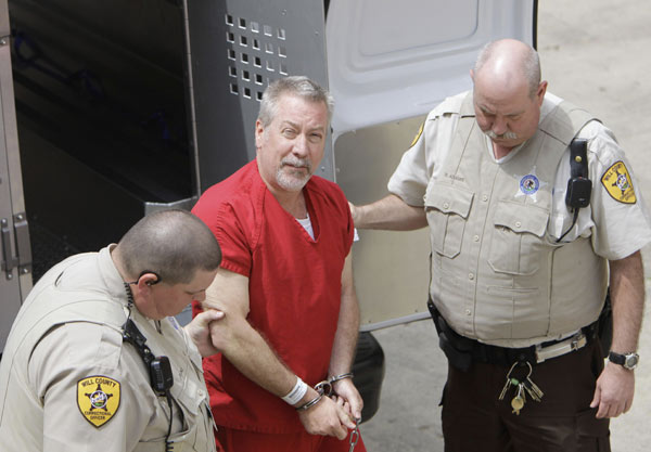 "<div class=""meta ""><span class=""caption-text "">Judge rules some hearsay evidence can be allowed in the murder trial of Drew Peterson, shown in this May 8, 2009 file photo. Jury selection is set for July 23, 2012.  (AP Photo/M. Spencer Green, File)</span></div>"