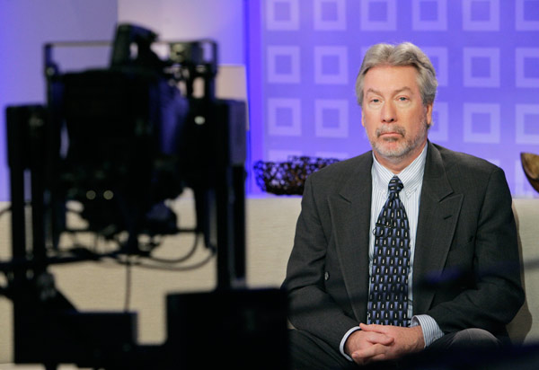 In June 2009 a judge makes it harder for Peterson, who is shown during a national TV interview in this photo, to speak to the media.  <span class=meta>(AP Photo&#47;Richard Drew)</span>