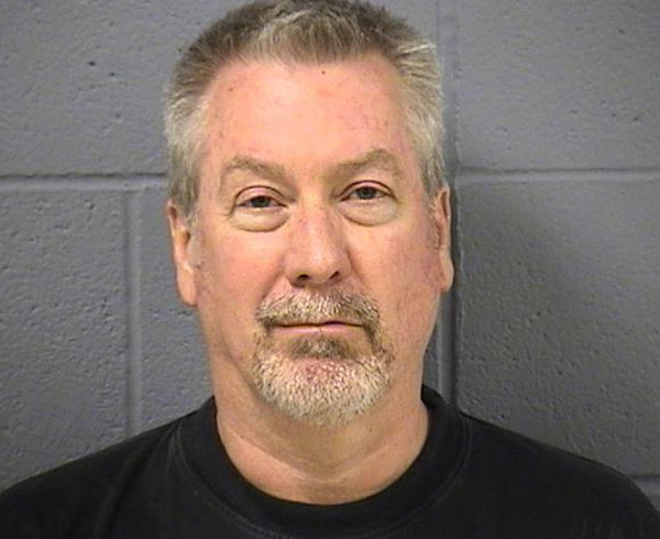 "<div class=""meta ""><span class=""caption-text "">Drew Peterson's mug shot taken on May 7, 2009 at the Will County Sheriff's office. Peterson was indicted on two counts of murder in the drowning death of his former wife, Kathleen Savio.  (AP Photo/Will County Sheriff's Office, File)</span></div>"