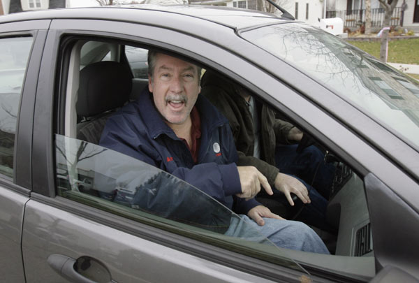 In this Nov. 26, 2007 file photo, former Bolingbrook police sergeant Drew Peterson talks to the media as he leaves his home in Bolingbrook, Ill. Peterson is named a suspect in the disappearance of his fourth wife, Stacy.  He resigns from the Bolingbrook Police Department. Peterson is found guilty of first-degree murder in the death of third wife Kathleen Savio on September 6, 2012.  <span class=meta>(AP Photo&#47;M. Spencer Green, File)</span>