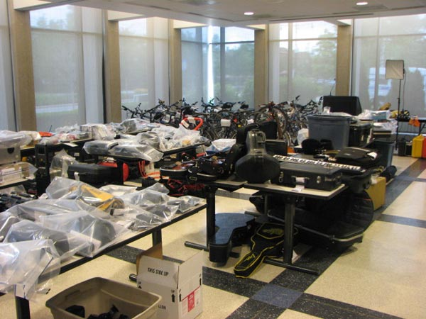 "<div class=""meta image-caption""><div class=""origin-logo origin-image ""><span></span></div><span class=""caption-text"">The Chicago Police Department (CPD) displays hundreds of stolen items at the Austin District Station, 5701 West Madison, after a search warrant was conducted on the city's West Side. Police estimate that the total cache is worth $300,000. CPD encourages anyone who has had items stolen from them in the past 10 years to come in and take a look at the items, which are on display from 10 a.m. to 10 p.m. until Monday, June 4, 2012. (ABC7Chicago.com / Evan Peterson)</span></div>"