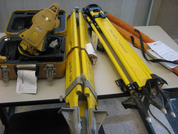 "<div class=""meta image-caption""><div class=""origin-logo origin-image ""><span></span></div><span class=""caption-text"">The CPD say one of the oddest things they have found out of all the stolen items was the surveying equipment used by construction crews. Friday, June 01, 2012. (ABC7Chicago.com / Evan Peterson)</span></div>"