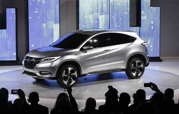 The Honda Urban SUV Concept is shown at media previews for the North American International Auto Show in Detroit, Monday, Jan. 14, 2013.  &#40;AP Photo&#47;Paul Sancya&#41; <span class=meta>(AP Photo&#47; Paul Sancya)</span>