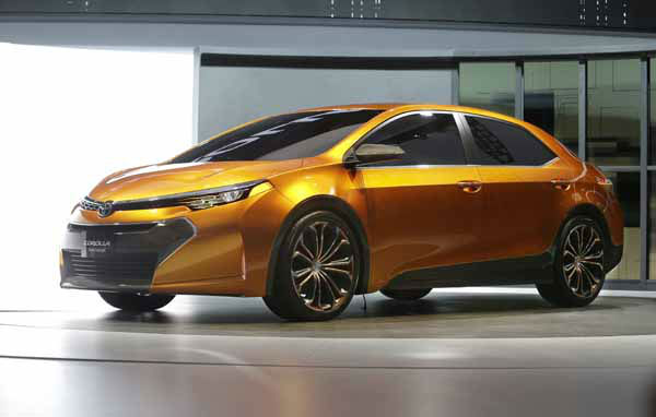 The Corolla Furia Concept is unveiled during the North American International Auto Show in Detroit, Monday, Jan. 14, 2013. &#40;AP Photo&#47;Carlos Osorio&#41; <span class=meta>(AP Photo&#47; Carlos Osorio)</span>