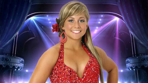 "<div class=""meta ""><span class=""caption-text "">Shawn Johnson: So, what?s more challenging--competing in the Olympics or Quickstepping on Dancing with the Stars? Shawn Johnson is one person who can answer that question, as she?s excelled in both venues.  (ABC Photo)</span></div>"