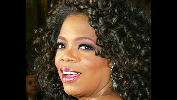 File photo of television host Oprah Winfrey