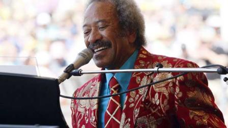 Allen Toussaint performs at the New Orleans Jazz and Heritage Festival in New Orleans, Saturday, May 7, 2011.