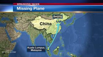 Malaysia Airlines said Saturday it lost communication with a plane carrying 239 people on its way from Kuala Lumpur to Beijing and search and rescue teams were trying to locate the aircraft.