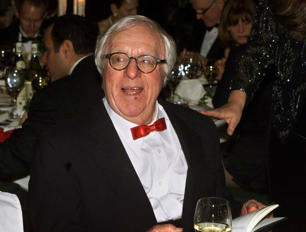 FILE - This Nov. 15, 2000 file photo shows science fiction writer Ray Bradbury at the National Book Awards in New York where he was given the Medal for Distinguished Contribution to American Letters. Bradbury, who wrote everything from science-fiction and mystery to humor, died Tuesday, June 5, 2012 in Southern California. He was 91.  &#40;AP Photo&#47;Mark Lennihan, file&#41; <span class=meta>(AP Photo&#47; MARK LENNIHAN)</span>