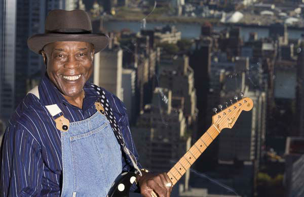 Musician Buddy Guy is photographed in New York, Oct. 30, 2006.   &#40;AP Photo&#47;Jim Cooper&#41; <span class=meta>(AP Photo&#47; JIM COOPER)</span>