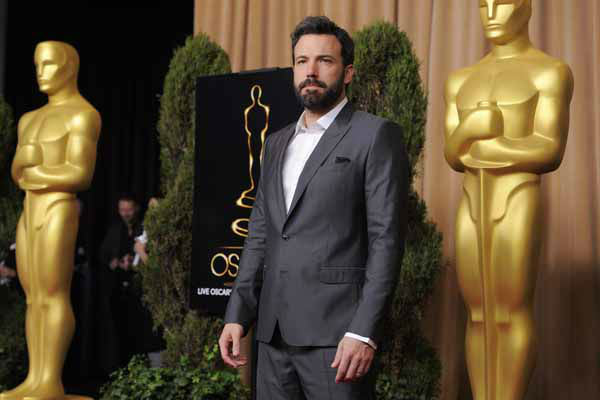 Ben Affleck, nominated for best picture for &#34;Argo,&#34; arrives at the 85th Academy Awards Nominees Luncheon at the Beverly Hilton Hotel on Monday, Feb. 4, 2013, in Beverly Hills, Calif. &#40;Photo by Chris Pizzello&#47;Invision&#47;AP&#41; <span class=meta>(Photo&#47;Chris Pizzello)</span>