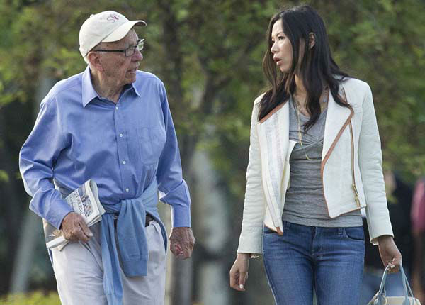 "<div class=""meta image-caption""><div class=""origin-logo origin-image ""><span></span></div><span class=""caption-text"">Rupert Murdoch and Wendi Murdoch arrive at the Sun Valley Inn for the 2011 Allen and Co. Sun Valley Conference, Thursday, July 7, 2011, in Sun Valley, Idaho.  News International announced Thursday it is shutting down the News of the World, the best-selling tabloid at the center of Britain's phone hacking scandal.  The Rupert Murdoch-owned tabloid was found to have hacked into the phone message of a teenage murder victim and was suspected of possibly targeting the relatives of slain soldiers in its quest to produce attention-grabbing headlines. (AP Photo/Julie Jacobson) (AP Photo/ Julie Jacobson)</span></div>"