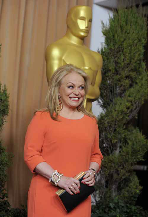 Jacki Weaver, nominated for best actress in a supporting role for &#34;Silver Linings Playbook,&#34; arrives at the 85th Academy Awards Nominees Luncheon at the Beverly Hilton Hotel on Monday, Feb. 4, 2013, in Beverly Hills, Calif. &#40;Photo by Chris Pizzello&#47;Invision&#47;AP&#41; <span class=meta>(Photo&#47;Chris Pizzello)</span>