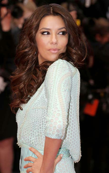 Model Eva Longoria arrives on the red carpet for the screening of the film Jimmy P. Psychotherapy of a Plains Indian at the 66th international film festival, in Cannes, southern France, Saturday, May 18, 2013. &#40;Photo by Todd Williamson&#47;Invision&#47;AP&#41; <span class=meta>(AP Photo&#47; Todd Williamson)</span>