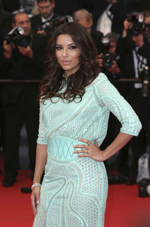 "<div class=""meta image-caption""><div class=""origin-logo origin-image ""><span></span></div><span class=""caption-text"">Actress Eva Longoria poses for photographers for the screening of the film Jimmy P. Psychotherapy of a Plains Indian at the 66th international film festival, in Cannes, southern France, Saturday, May 18, 2013. (Photo by Joel Ryan/Invision/AP) (AP Photo/ Joel Ryan)</span></div>"