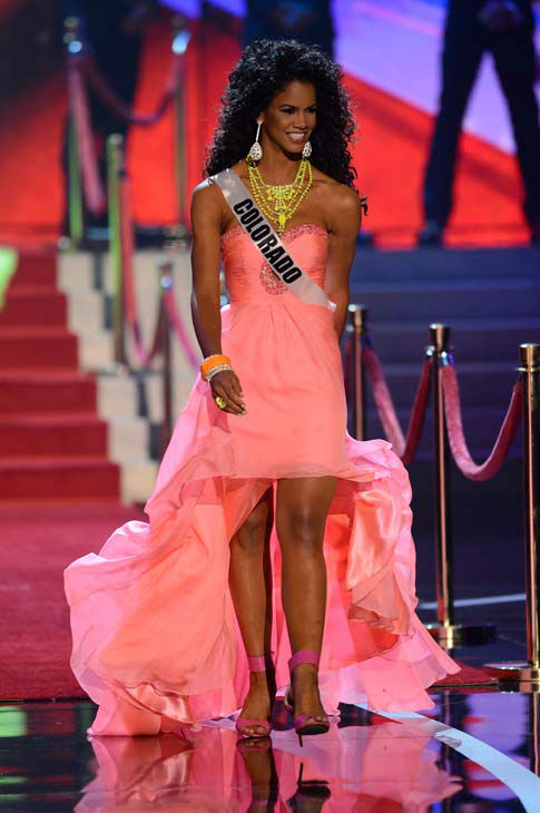 "<div class=""meta image-caption""><div class=""origin-logo origin-image ""><span></span></div><span class=""caption-text"">Miss Colorado Amanda Wiley walks onstage during the Miss USA 2013 pageant, Sunday, June 16, 2013, in Las Vegas. (AP Photo/Jeff Bottari) (AP Photo/ Jeff Bottari)</span></div>"