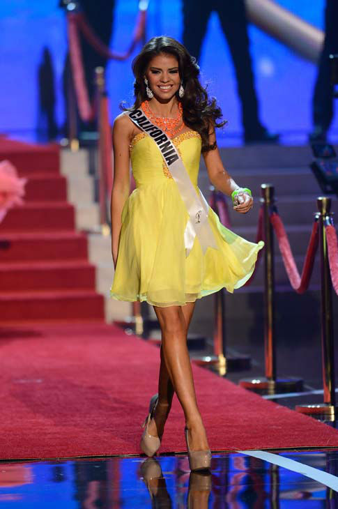 "<div class=""meta image-caption""><div class=""origin-logo origin-image ""><span></span></div><span class=""caption-text"">Miss California Mabelynn Capeluj walks onstage during the Miss USA 2013 pageant, Sunday, June 16, 2013, in Las Vegas. (AP Photo/Jeff Bottari) (AP Photo/ Jeff Bottari)</span></div>"