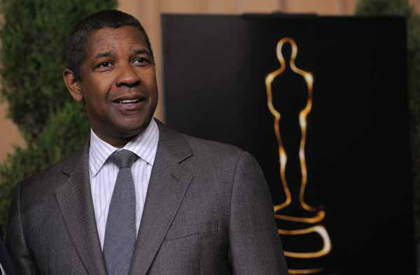 Denzel Washington, nominated for best actor in a leading role for &#34;Flight,&#34; arrives at the 85th Academy Awards Nominees Luncheon at the Beverly Hilton Hotel on Monday, Feb. 4, 2013, in Beverly Hills, Calif. &#40;Photo by Chris Pizzello&#47;Invision&#47;AP&#41; <span class=meta>(Photo&#47;Chris Pizzello)</span>