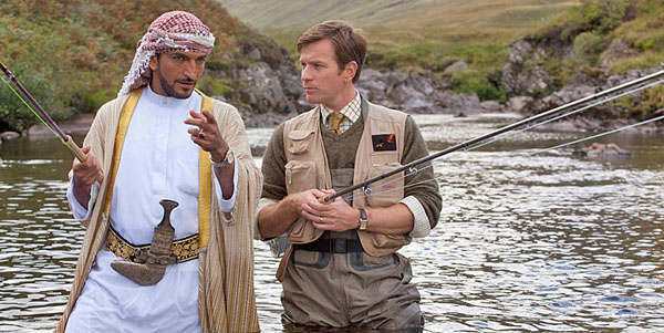 This image released by CBS Films shows Ewan McGregor in a scene from the film, &#34;Salmon Fishing in the Yemen.&#34; The film was nominated for a Golden Globe for best comedy or musical, Thursday, Dec. 13, 2012. McGregor was nominated for best actor in the film. The 70th annual Golden Globe Awards will be held on Jan. 13. &#40;AP Photo&#47;CBS Films&#41; <span class=meta>(AP Photo&#47; CL**NY**)</span>