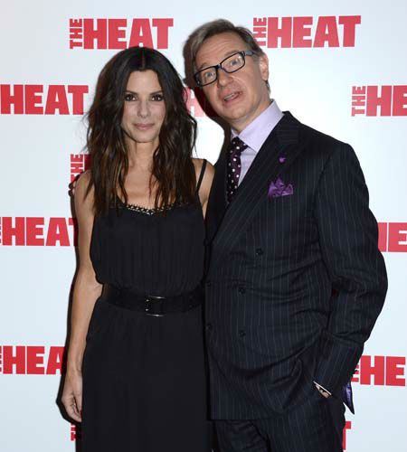 Sandra Bullock, Paul Feig are seen at the Gala Screening of The Heat at the Curzon Mayfair in London on Thursday, June. 13, 2013. &#40;Photo by Jon Furniss&#47;Invision&#47;AP&#41; <span class=meta>(Photo&#47;Jon Furniss)</span>