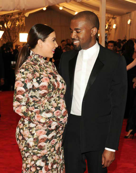 Kim Kardashian, left, and Kanye West attend The Metropolitan Museum of Art&#39;s Costume Institute benefit celebrating &#34;PUNK: Chaos to Couture&#34; on Monday, May 6, 2013, in New York. &#40;Photo by Evan Agostini&#47;Invision&#47;AP&#41; <span class=meta>(Photo&#47;Evan Agostini)</span>