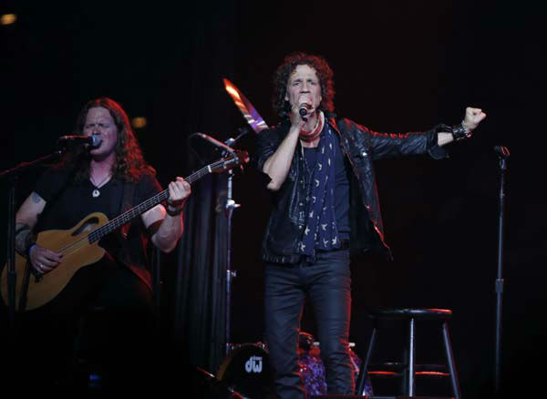 "<div class=""meta ""><span class=""caption-text "">Gary Cherone, lead singer of American band Extreme performs at the Boston Strong Concert: An Evening of Support and Celebration at the TD Garden on Thursday, May 30, 2013 in Boston.  (Photo by Bizuayehu Tesfaye/Invision/AP) (AP Photo/ Bizuayehu Tesfaye)</span></div>"