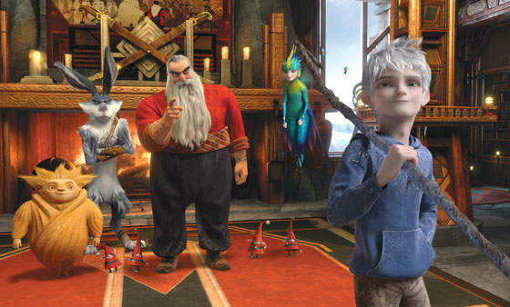 "<div class=""meta ""><span class=""caption-text "">This film image released by Paramount Pictures shows a scene from the film ""Rise of the Guardians,"" an adventure with Santa Claus, the Easter Bunny and other mythical beings battling an evil spirit. The film was nominated for a Golden Globe for best animated film on Thursday, Dec. 13, 2012. The 70th annual Golden Globe Awards will be held on Jan. 13. (AP Photo/Paramount Pictures, DreamWorks Animation ) (AP Photo/ DreamWorks Animation)</span></div>"
