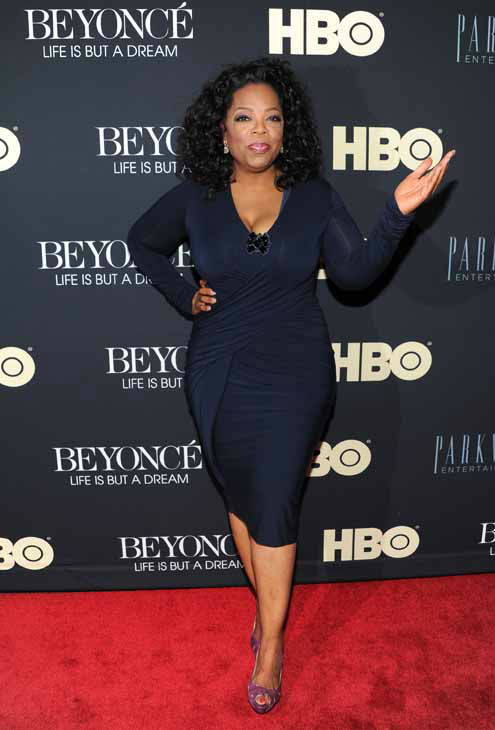 Media mogul Oprah Winfrey attends the premiere of &#34;Beyonce: Life Is But A Dream&#34; at the Ziegfeld Theatre on Tuesday, Feb. 12, 2013 in New York. &#40;Photo by Evan Agostini&#47;Invision&#47;AP&#41; <span class=meta>(Photo&#47;Evan Agostini)</span>