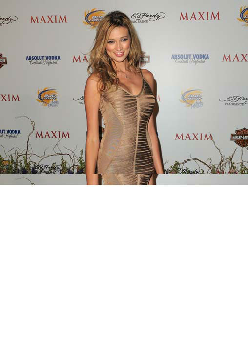 LOS ANGELES, CA - MAY 19:  Kylie Bisutti arrives at the 11th Annual MAXIM HOT 100 Party at Paramount Studios on May 19, 2010 in Los Angeles, California.  &#40;Photo by Jordan Strauss&#47;Invision&#47;AP Images&#41; <span class=meta>(AP Photo&#47; Jordan Strauss)</span>
