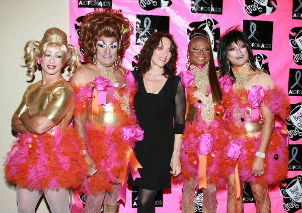 Actress Katey Sagal and drag queens arrive at the 5th Annual Best In Drag Show FUNdraiser for Aid for AIDS at the Orpheum Theater on October 14, 2007 in Los Angeles, California. &#40;Photo by Jordan Strauss&#47;Invision&#47;AP Images&#41; <span class=meta>(Photo&#47;Jordan Strauss)</span>