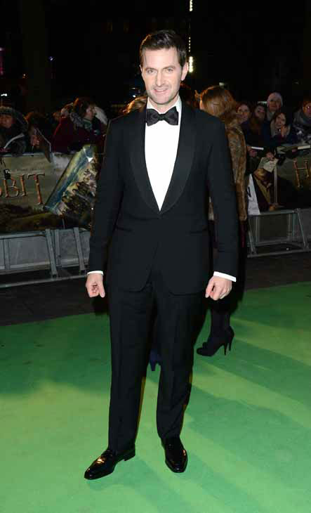 Actor Richard Armitage arrives at the UK premiere of The Hobbit: An Unexpected Journey at The Odeon Leicester Square, London on Wednesday, Dec. 12, 2012. &#40;Photo by Jon Furniss&#47;Invision&#47;AP&#41; <span class=meta>(Photo&#47;Jon Furniss)</span>