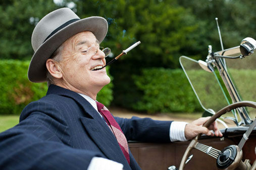 This film image released by Focus Features shows Bill Murray as Franklin D. Roosevelt in a scene from &#34;Hyde Park on Hudson.&#34;  Murray was nominated Thursday, Dec. 13, 2012 for a Golden Globe for best actor in a comedy or musical for his role in the film.  The 70th annual Golden Globe Awards will be held on Jan. 13. &#40;AP Photo&#47;Focus Features, Nicola Dove&#41; <span class=meta>(AP Photo&#47; Nicola Dove)</span>