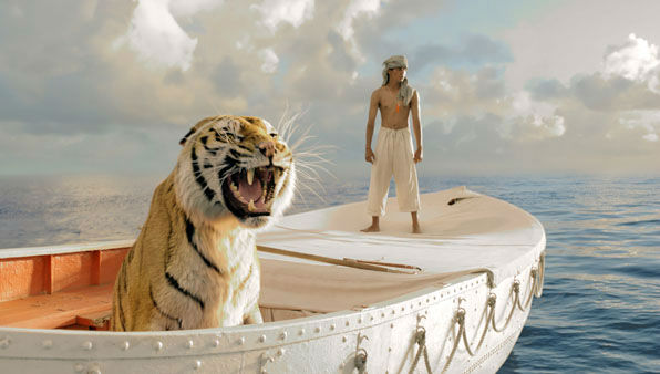 "This film image released by 20th Century Fox shows Suraj Sharma in a scene from ""Life of Pi."" The film was nominated for a Golden Globe for best drama on Thursday, Dec. 13, 2012. The 70th annual Golden Globe Awards will be held on Jan. 13. (AP Photo/20th Century Fox, Jake Netter)"