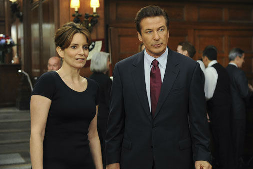 This image released by NBC shows Tina Fey, left, and Alec Baldwin in &#34;30 Rock.&#34; On Thursday, Dec. 13, 2012, Fey was nominated for a Golden Globe for best actress in a TV comedy series. Baldwin was also nominated for best actor in a comedy series. The 70th annual Golden Globe Awards will be held on Jan. 13. &#40;AP Photo&#47;NBC, Ali Goldstein&#41; <span class=meta>(AP Photo&#47; Ali Goldstein)</span>