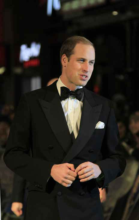 Britain&#39;s Prince William, the Duke of Cambridge arrives at the UK premiere of &#34;The Hobbit: An Unexpected Journey&#34; at The Odeon Leicester Square, London on Wednesday, Dec. 12, 2012.  &#40;Photo by Joel Ryan&#47;Invision&#47;AP&#41; <span class=meta>(Photo&#47;Joel Ryan)</span>