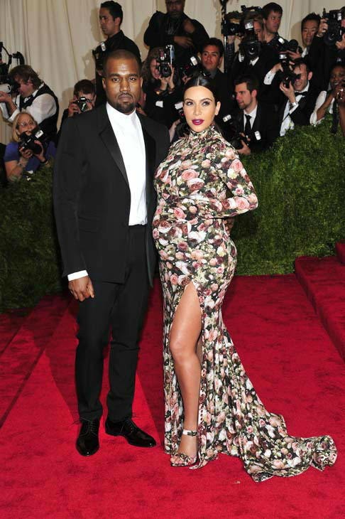 "<div class=""meta ""><span class=""caption-text "">Kanye West and Kim Kardashian attends The Metropolitan Museum of Art's Costume Institute benefit celebrating ""PUNK: Chaos to Couture"" on Monday May 6, 2013 in New York. (Photo by Charles Sykes/Invision/AP) (Photo/Charles Sykes)</span></div>"