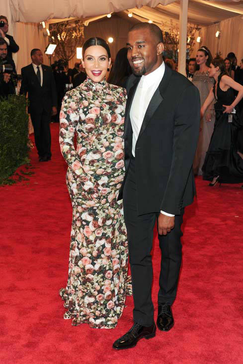 Kim Kardashian and Kanye West attend The Metropolitan Museum of Art  Costume Institute gala benefit, &#34;Punk: Chaos to Couture&#34;, on Monday, May 6, 2013 in New York. &#40;Photo by Evan Agostini&#47;Invision&#47;AP&#41; <span class=meta>(Photo&#47;Evan Agostini)</span>