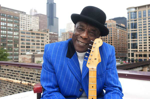 This undated handout photo provided by the Kennedy Center shows Buddy Guy in Chicago. Dustin Hoffman and David Letterman will soon find themselves in company they never expected in the nation&#39;s capital. The actor and comedian are among seven people receiving the 2012 Kennedy Center Honors, according to an announcement Wednesday. They join Chicago bluesman Buddy Guy, rock band Led Zeppelin and ballerina Natalia Makarova. &#40;AP Photo&#47;Kennedy Center&#41; <span class=meta>(AP Photo&#47; RCL**DC**)</span>