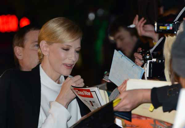 Cate Blanchett seen at the UK premiere of The Hobbit: An Unexpected Journey at The Odeon Leicester Square on Wednesday, Dec. 12, 2012, in London. &#40;Photo by Jon Furniss&#47;Invision&#47;AP&#41; <span class=meta>(Photo&#47;Jon Furniss)</span>