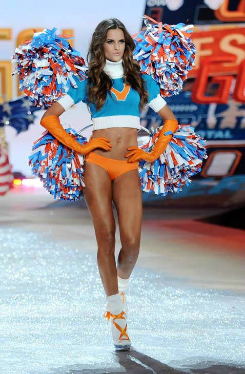 "<div class=""meta ""><span class=""caption-text "">Model Izabel Goulart walks the runway during the 2012 Victoria's Secret Fashion Show on Wednesday Nov. 7, 2012 in New York. The show will be Broadcast on Tuesday, Dec. 4 (10:00 PM, ET/PT) on CBS. (Photo by Evan Agostini/Invision/AP) (AP Photo/ Evan Agostini)</span></div>"