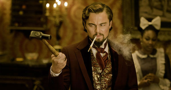 "<div class=""meta ""><span class=""caption-text "">This undated publicity image released by The Weinstein Company shows Leonardo DiCaprio as Calvin Candle in ""Django Unchained,"" directed by Quentin Tarantino. DiCaprio was nominated Thursday, Dec. 13, 2012 for a Golden Globe for best supporting actor for his role in ? Django.? The 70th annual Golden Globe Awards will be held on Jan. 13.  (AP Photo/The Weinstein Company, Andrew Cooper, SMPSP)</span></div>"