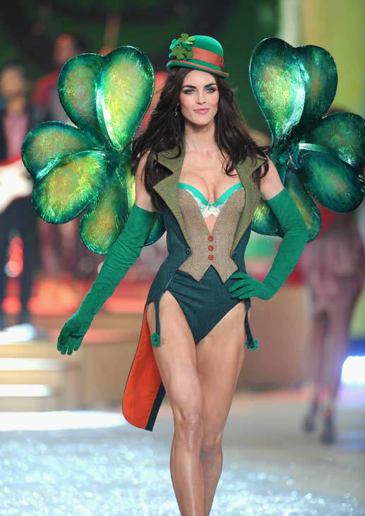 Model Hilary Rhoda walks the runway during the 2012 Victoria&#39;s Secret Fashion Show on Wednesday Nov. 7, 2012 in New York. The show will be Broadcast on Tuesday, Dec. 4 &#40;10:00 PM, ET&#47;PT&#41; on CBS. &#40;Photo by Evan Agostini&#47;Invision&#47;AP&#41; <span class=meta>(AP Photo&#47; Evan Agostini)</span>