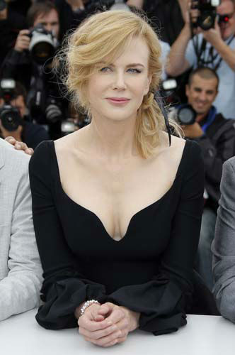 "<div class=""meta ""><span class=""caption-text "">FILE - This May 15, 2013 file photo shows actress and jury member Nicole Kidman wearing a regal black Alexander McQueen dress during a photo call for the jury at the 66th international film festival, in Cannes, southern France, Wednesday, May 15, 2013. (AP Photo/Francois Mori) (AP Photo/ Francois Mori)</span></div>"