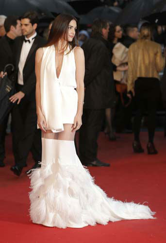 FILE - This May 18, 2013 file photo shows actress Paz Vega on the red carpet for the screening of the film &#34;Jimmy P. Psychotherapy of a Plains Indian,&#34; at the 66th international film festival, in Cannes, southern France. &#40;Photo by Todd Williamson&#47;Invision&#47;AP, file&#41; <span class=meta>(AP Photo&#47; Todd Williamson)</span>