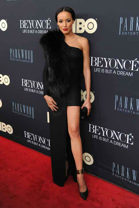 Actress Selita Ebanks attend the premiere of &#34;Beyonce: Life Is But A Dream&#34; at the Ziegfeld Theatre on Tuesday, Feb. 12, 2013 in New York. &#40;Photo by Evan Agostini&#47;Invision&#47;AP&#41; <span class=meta>(Photo&#47;Evan Agostini)</span>