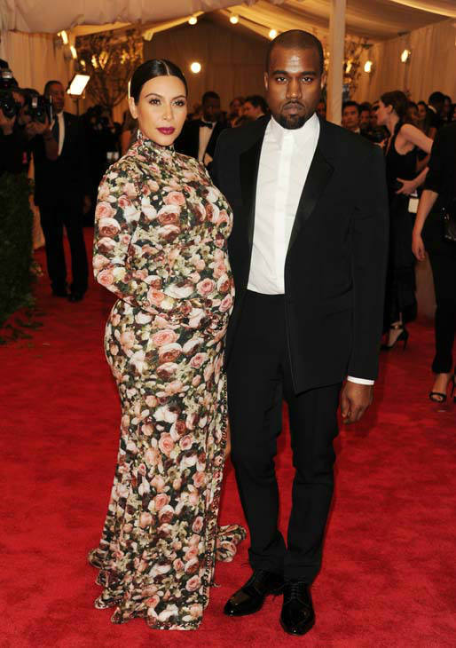 Kim Kardashian and Kanye West attend The Metropolitan Museum of Art&#39;s Costume Institute benefit celebrating &#34;PUNK: Chaos to Couture&#34; on Monday, May 6, 2013, in New York. &#40;Photo by Evan Agostini&#47;Invision&#47;AP&#41; <span class=meta>(Photo&#47;Evan Agostini)</span>