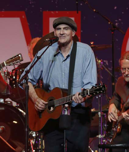 James Taylor performs at the Boston Strong Concert: An Evening of Support and Celebration at the TD Garden on Thursday, May 30, 2013 in Boston. &#40;Photo by Bizuayehu Tesfaye&#47;Invision&#47;AP&#41; <span class=meta>(AP Photo&#47; Bizuayehu Tesfaye)</span>