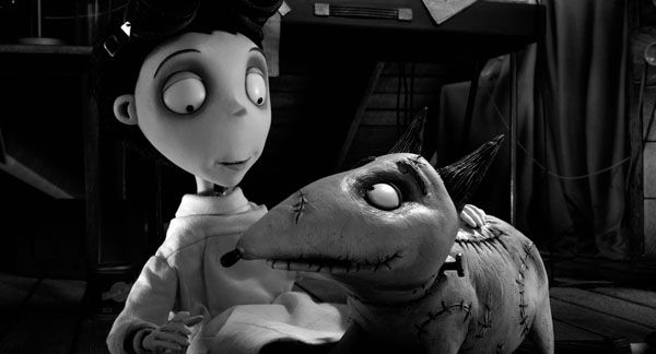 This film image released by Disney shows Victor Frankenstein, voiced by Charlie Tahan, with Sparky, in a scene from &#34;Frankenweenie.&#34;  The film was nominated for a Golden Globe for best animated film on Thursday, Dec. 13, 2012. The 70th annual Golden Globe Awards will be held on Jan. 13. &#40;AP Photo&#47;Disney&#41; <span class=meta>(AP Photo&#47; Disney)</span>