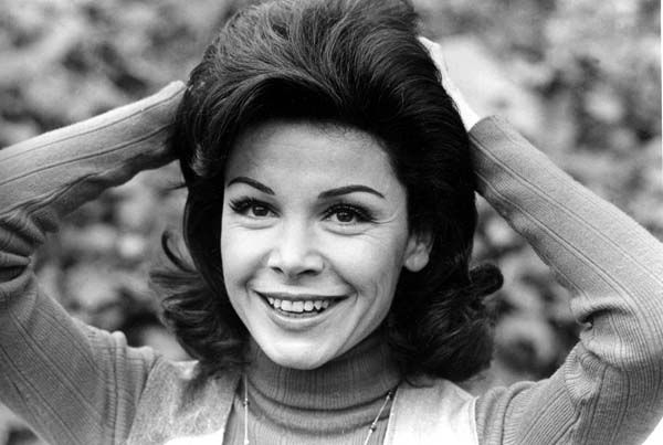 "<div class=""meta ""><span class=""caption-text "">Annette Funicello is shown at her home in Encino, Ca., March 13, 1978.  Funicello, 34, was discovered at age 12 to become the 24th and last Mousketeer chosen for the 1950s televison show ""Mickey Mouse Club.""  (AP Photo) (AP Photo/ XNBG)</span></div>"