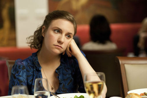 This undated image released by HBO shows Lena Dunham in a scene from the series &#34;Girls.&#34; Dunham was nominated for a Golden Globe for best actress in a comedy series, Thursday, Dec. 13, 2012, for her role in &#34;Girls.&#34; The 70th annual Golden Globe Awards will be held on Jan. 13. &#40;AP Photo&#47;HBO, JoJo Whilden&#41; <span class=meta>(AP Photo&#47; JOJO WHILDEN)</span>